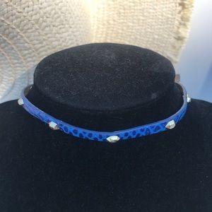 Stella & Dot Aura Coin Drop Choker Wrap Bracelet